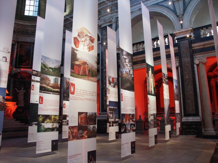 EXPOSITION DES ARCHITECTES A LA CHAPELLE DE LA TRINITE - 2003